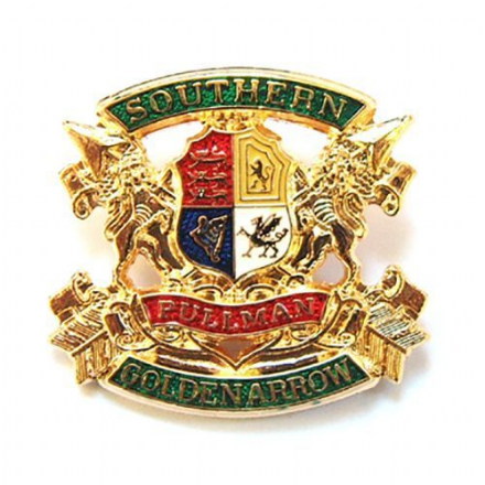 Golden Arrow Southern Pullman Collectors Badge
